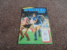 Ipswich Town v Liverpool, 1982/83